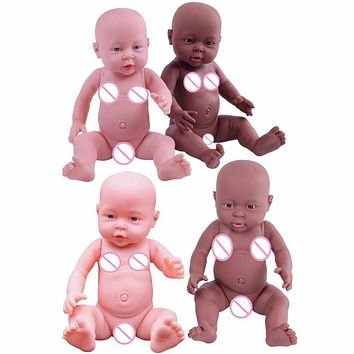 41cm Baby Simulation Doll Soft Children Reborn Baby Doll Toy Newborn Boy Girl Birthday Gift Emulated Dolls Baby Growth Partners