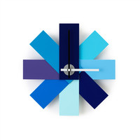 I liked this design on #Fab. Watch Me Wall Clock Blue