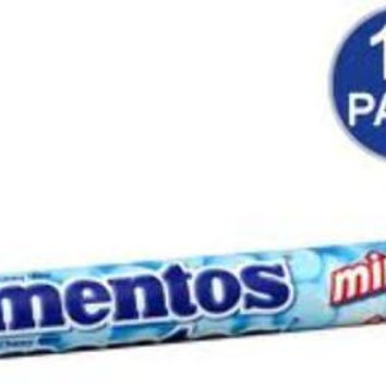 mentos mint single roll 1.32 oz Case of 15