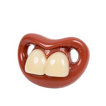 Two Front Teeth Pacifier - Spencer's