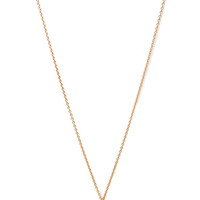 FOREVER 21 Filigree Locket Necklace Gold/Clear One
