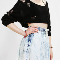 Urban Outfitters - Kill City Boucle Cropped Sweater