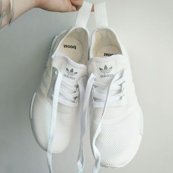 ADIDAS NMD Women Running Sport Fashion Casual Shoes Sneakers White G