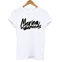 Marina & The Diamonds Logo T-Shirt (S, M, L, XL)
