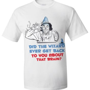 Funny T-Shirt - Wizard of Oz wizard-tee