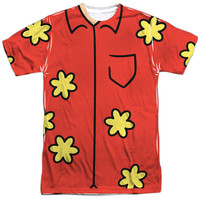 Family Guy Quagmire Costume White Poly T-Shirt