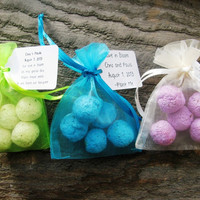 125 Seed Bomb Favors WITH personalized tag