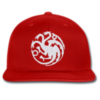 house targaryen game of thrones snapback hat snapback hat