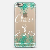 Class of 2015 - Teal (limited edition) iPhone 6 case by Lisa Argyropoulos | Casetify