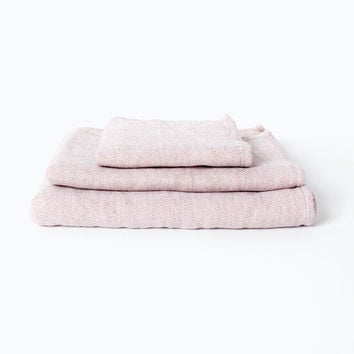 Claire Towel, Smoky Pink