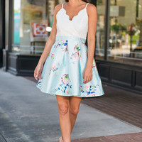 Perfect Poetry Dress, Mint