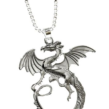 Targaryen Dragon Necklace Pendant For Women