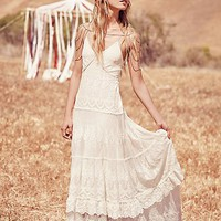Spell & the Gypsy Collective x Free People Womens Canyon Moon Mesh Gown