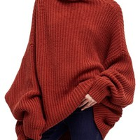 Free People Swim Too Deep Turtleneck Sweater | Nordstrom