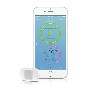 Lumo Lift Posture Coach and Activity Tracker (requires the free Lumo Lift iOS/Android* app)