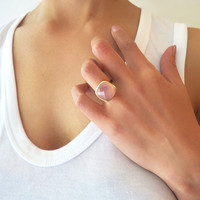 Pink Statement Ring