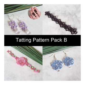 PDF Four Original Tatting Patterns - Pack B