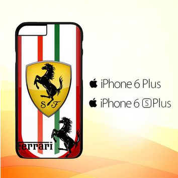Ferrari Logo Wallpapers X3232 iPhone 6 Plus|6S Plus Case