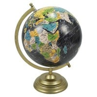Threshold Desktop Globe w/ Gold Base