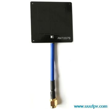 Aomway FPV 5.8G 6dB Panel Mini Enhanced Antenna  Signal Booster Increase Control for video Receiver SMA RP-SMA Drone Parts