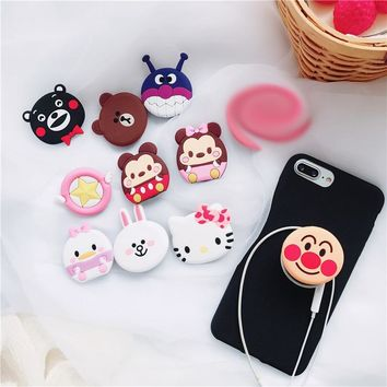 Universal mobile phone bracket Cute hello kitty airbag Phone POP Expanding Stand Finger Holder For iPhone Samsung Xiaomi Stand