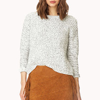 Perforated Suede Skirt