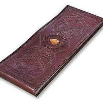 Vintage Leather Embossed Handmade Leather Photo Album