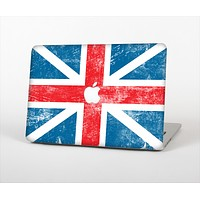 The Scratched Surface London England Flag Skin Set for the Apple MacBook Air 11""