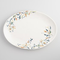 Klara Earthenware Serving Platter