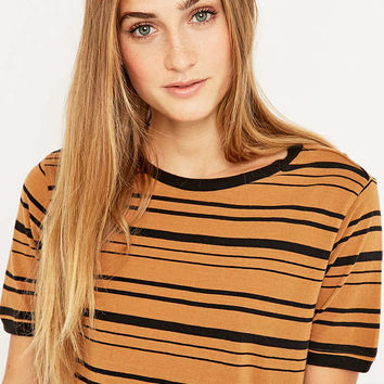 BDG Striped Ringer T-shirt - Urban Outfitters