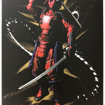 Deadpool Marvel Bandai Meisho Manga Realization Action Figure NEW IN STOCK USA
