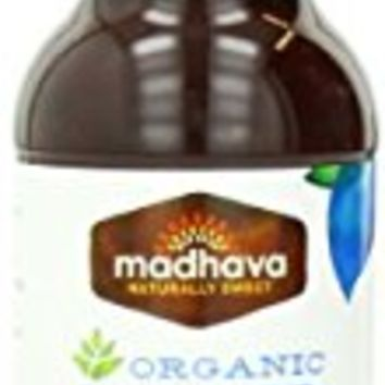 Madhava Organic Salted Caramel Coffee Syrup, Agave Sweetened, 9.9 Ounce (Pack of 6)