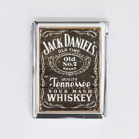 cigarette case JACK DANIEL'S old n7 card holder wallet box