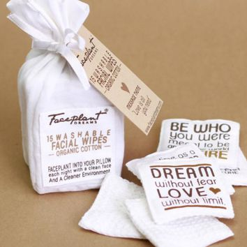 Love Is All You Need Reusable Facial Wipes