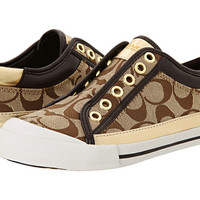 COACH Felix Khaki/Gold - Zappos.com Free Shipping BOTH Ways