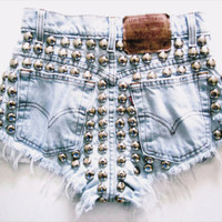 The Bleached Metal Shorts from ShopWunderlust