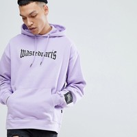 Wasted Paris London Hoodie In Purple at asos.com