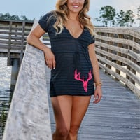 Cute hunting deer skull cover-up-more colors available