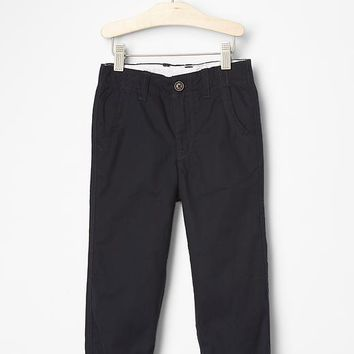 Gap Flannel Lined Khakis