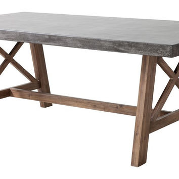 Ford Dining Table | Cement