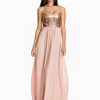 Cross Back Maxi Dress, NLY Eve