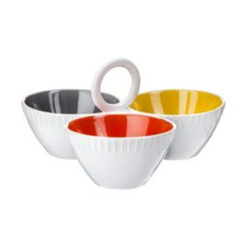 Threshold™ Stoneware Serving Bowl - Yellow (Small)
