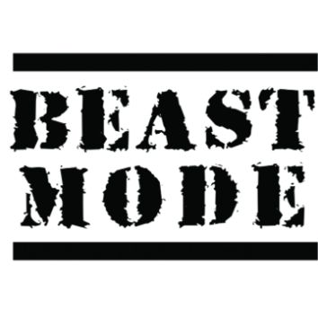BEAST MODE Tattoo Set