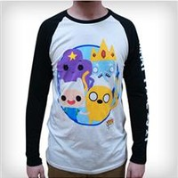 Adventure Time Funko Raglan Long Sleeve Tee