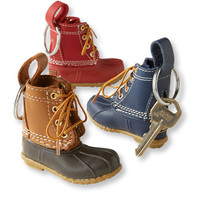 Bean Boot Keychain, Set of Three | Free Shipping at L.L.Bean