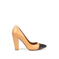 COURT SHOE WITH CAP-TOE - Shoes - Collection - Woman - ZARA United States