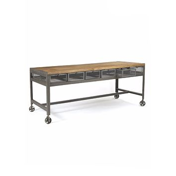 Industrial Console Table by Go Home Ltd. 12005