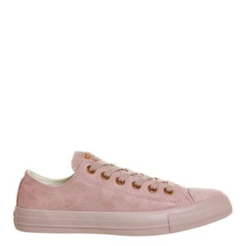 **All Star Low Leather Trainers by Converse | Topshop