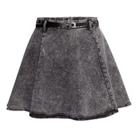 Denim skirt - from H&M