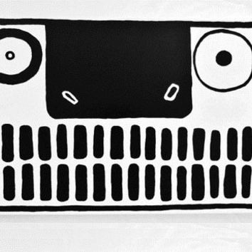 LARGE Face Painting Canvas Original Black and White Abstract Painting Canvas Painting Original Abstract Black and White Art Weird Face Art